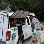 Outdoor Pest Control Visit by Always Green