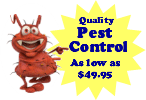 Special entry price for pest control